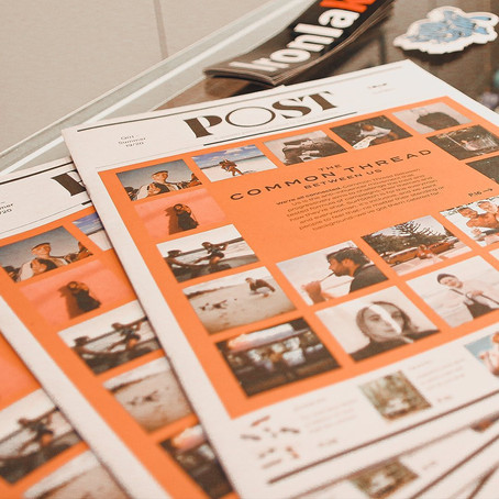 SurfStitch launches quarterly newspaper 'POST'