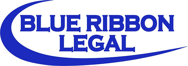 Blue Ribbon Legal logo thicker font same