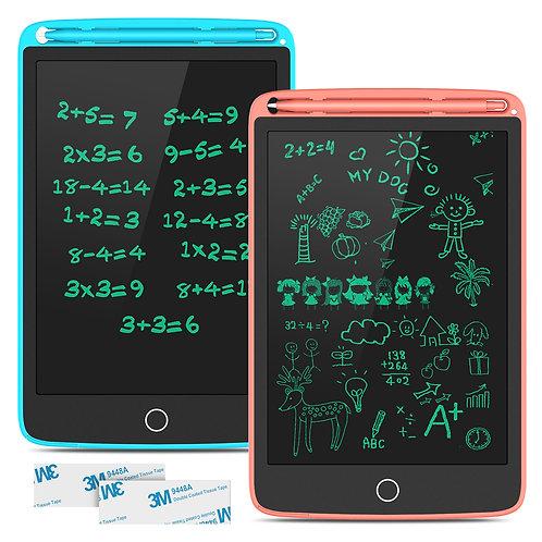 TECBOSS LCD Writing Tablet, 2 Pack