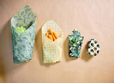 Beeswax Wraps Help Reduce Food Waste