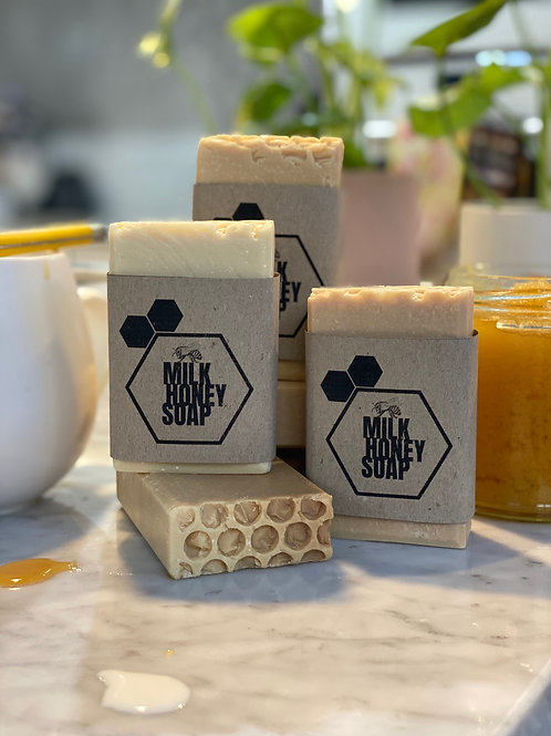 Milk Honey Soap x2