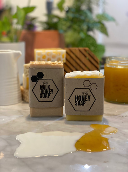 Honey Soap & Milk Honey Soap