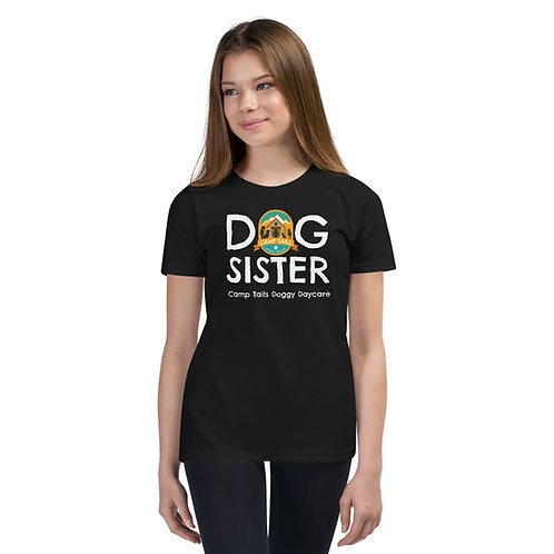 DOG SISTER Youth Short Sleeve T-Shirt