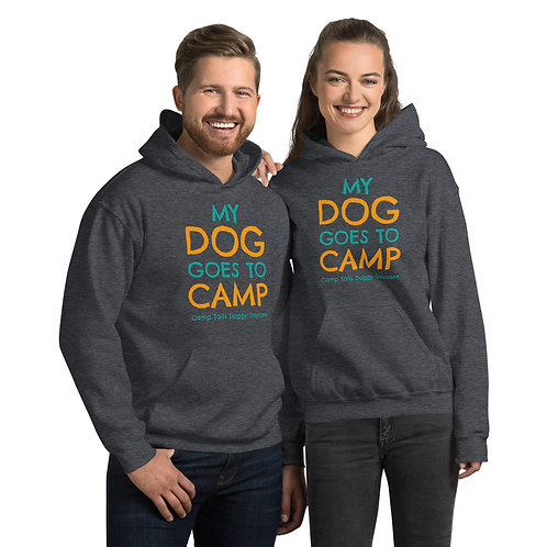 My Dog Goes To Camp Hoody