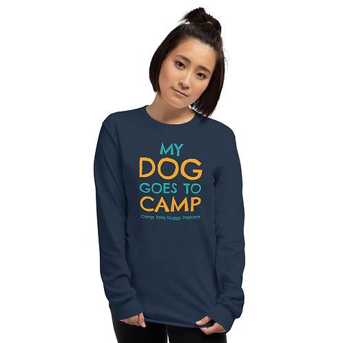 My Dog Goes To Camp Long Sleeve Tee