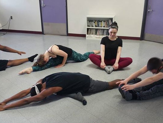 Lessons From A Dance Minister:                               Stretch!!