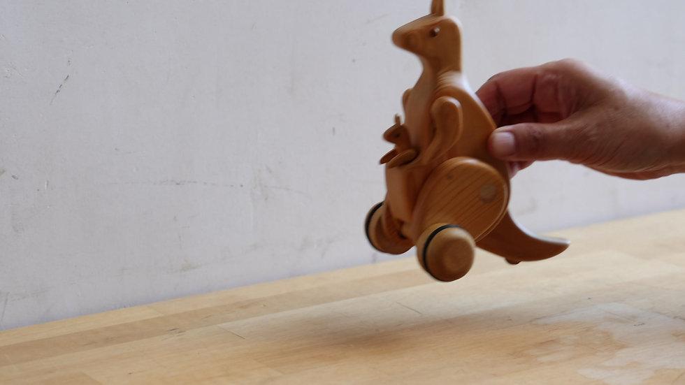 【蓮渓円誠】カラクリ玩具:カンガルー