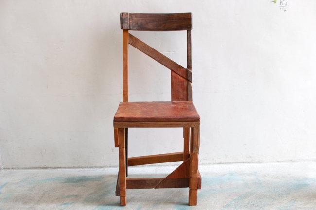 【KINTA STUDIO】コラージュ椅子・B