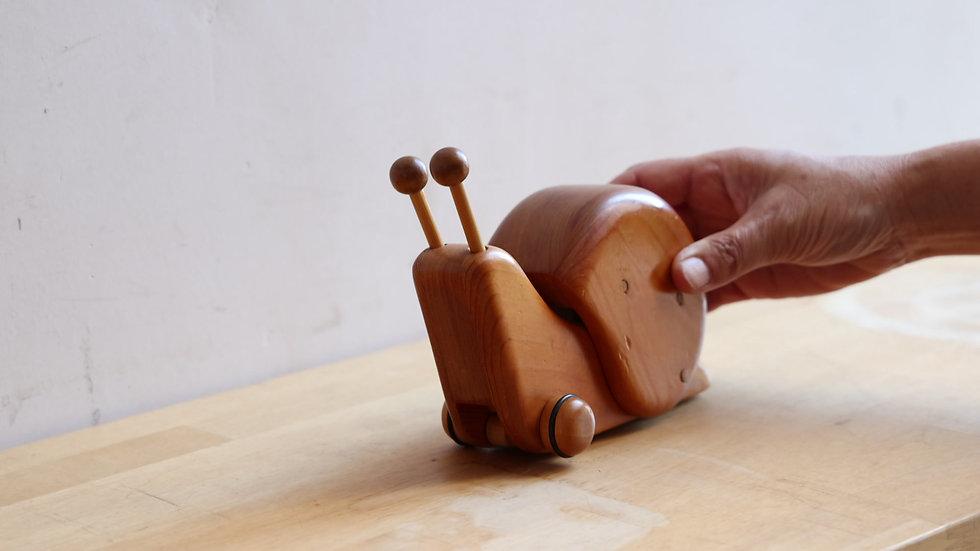 【蓮渓円誠】カラクリ玩具:デンデンムシ