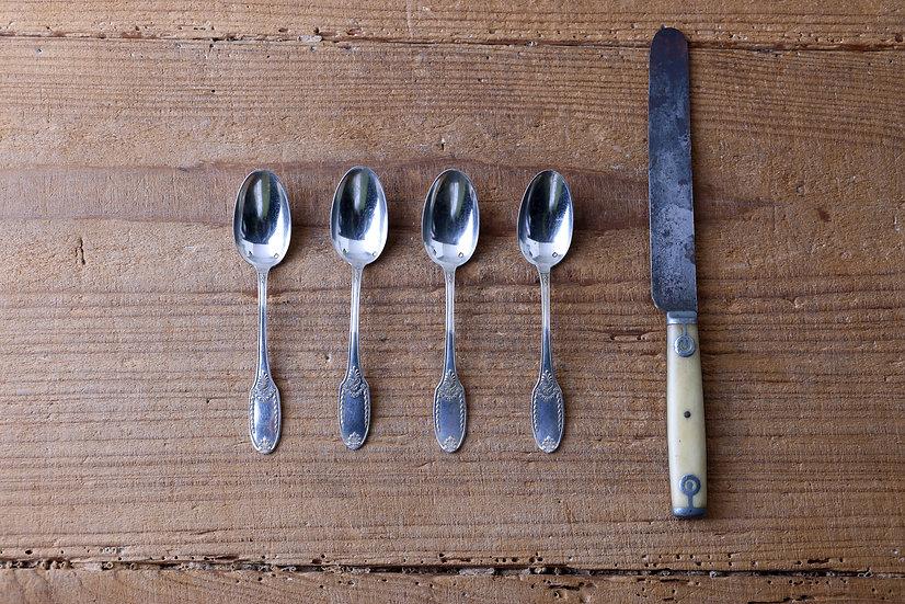 【古い道具】スプーン・ナイフ
