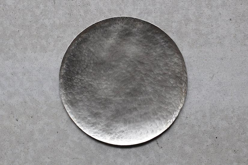 【銀猫】菓子皿・洋白Φ140(GN-33)