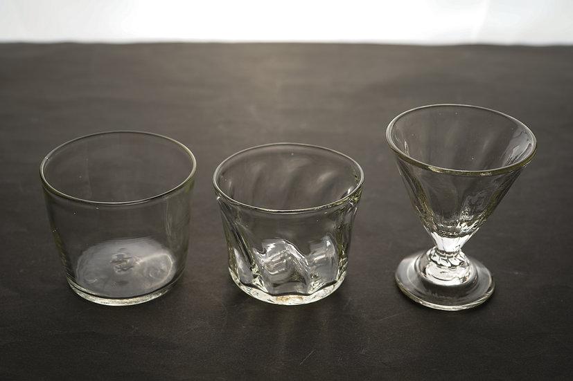 【小牧広平】glass natural/glass mold/glass triangle