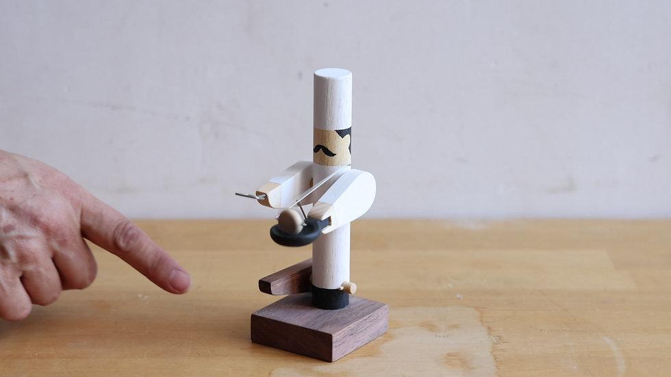 【蓮渓円誠】カラクリ玩具:シェフ(HE1-33)