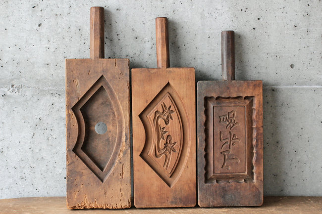【古い道具】菓子型