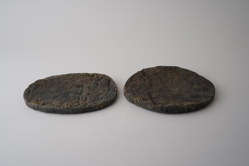【髙木剛】土器板皿・タタキ・A/B(TG4-54)
