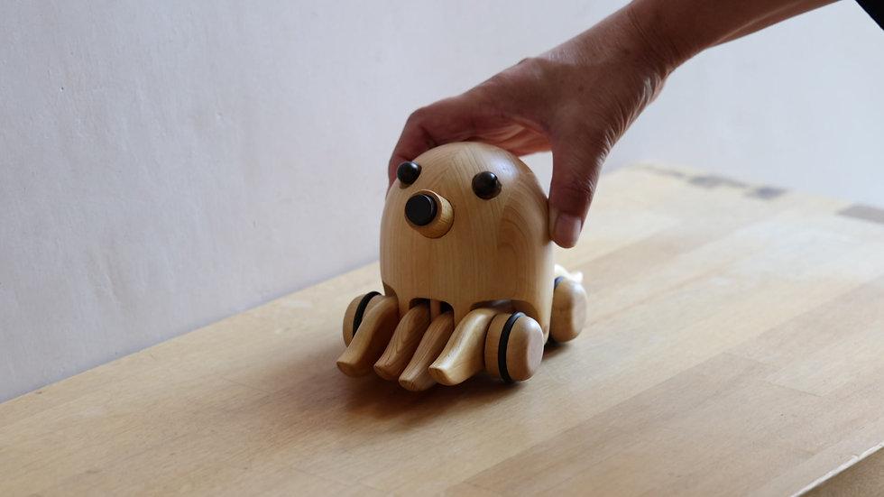 【蓮渓円誠】カラクリ玩具:タコ