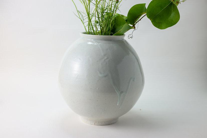 【竹下努】青白磁壺・小(TTM3-46)