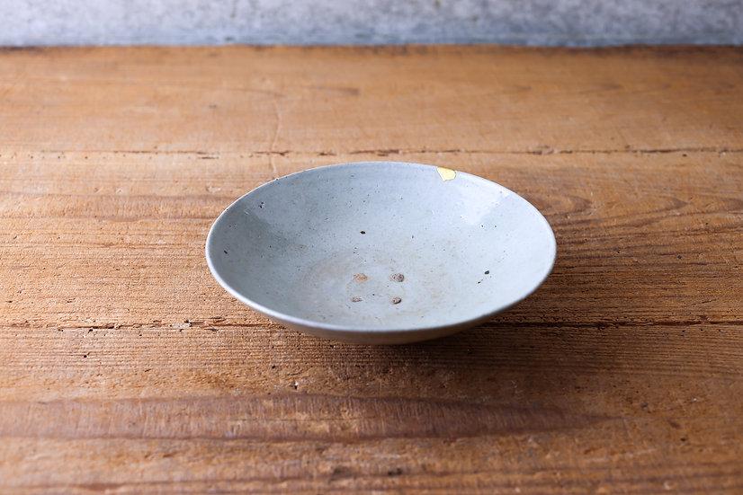 【古い道具】皿(李朝)金直し有り