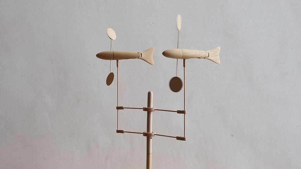 【蓮渓円誠】カラクリ玩具:魚