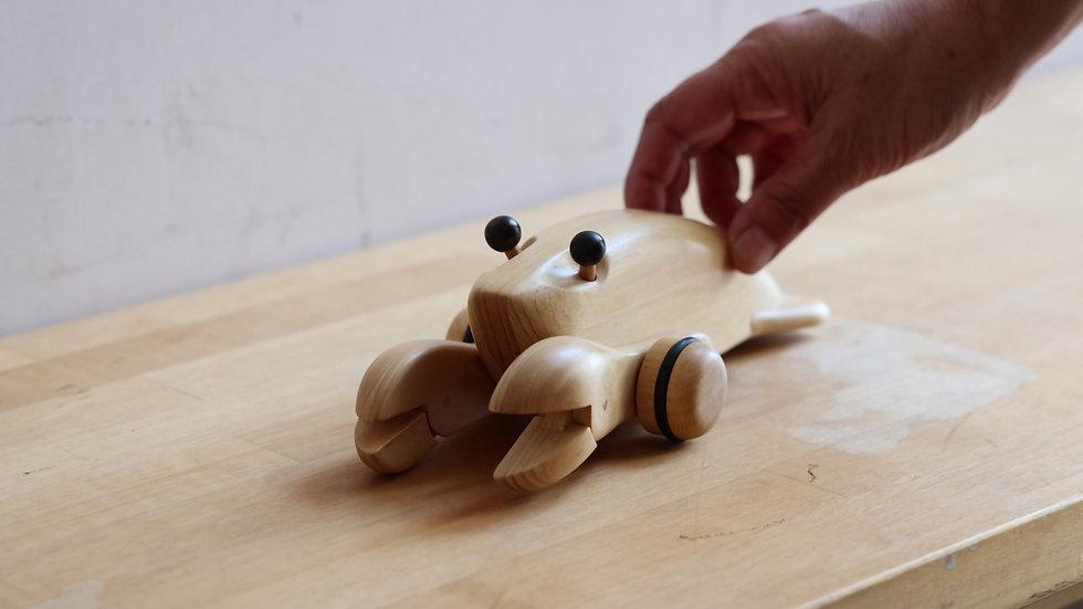【蓮渓円誠】カラクリ玩具:ザリガニ