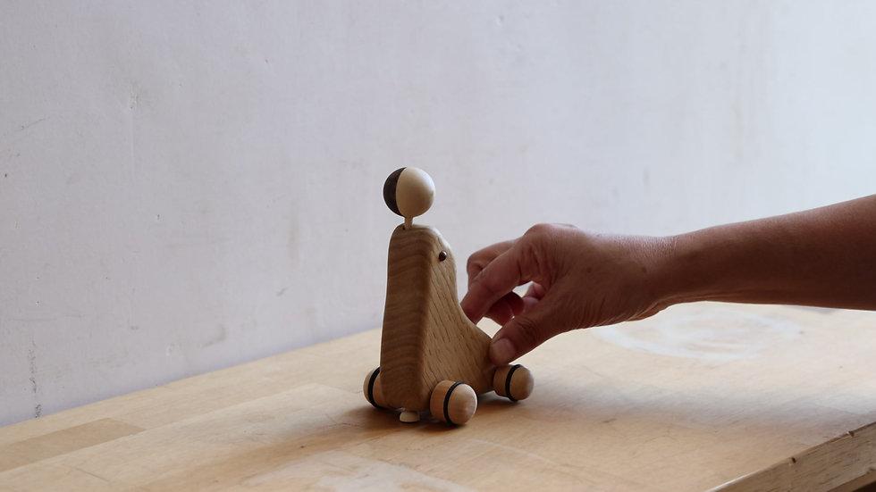【蓮渓円誠】カラクリ玩具:アシカ