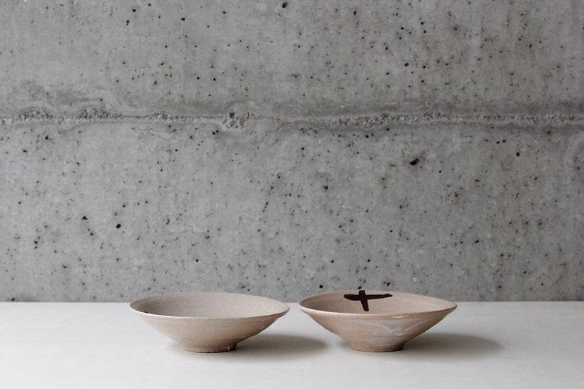 【清水善行】長石釉鉄絵皿