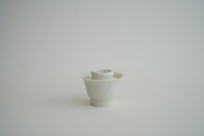 【竹下努】青白磁蓋碗・無地(TTS-3)