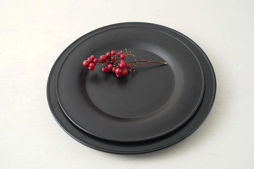【小倉広太郎】黒い皿S/M