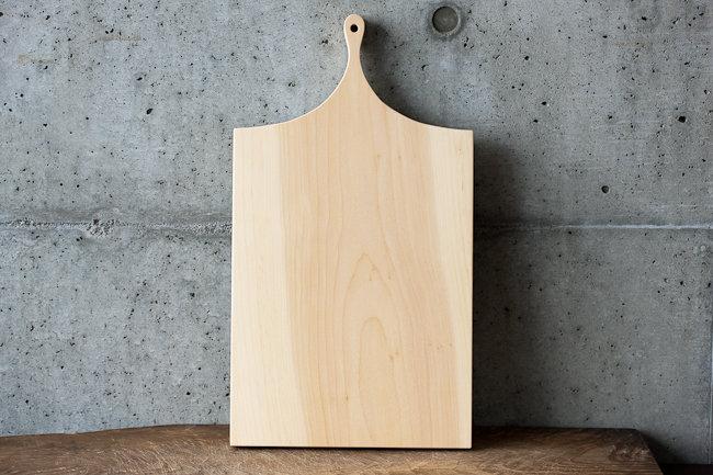 【woodpecker】いちょうの木のまな板・1大(FK3-1)