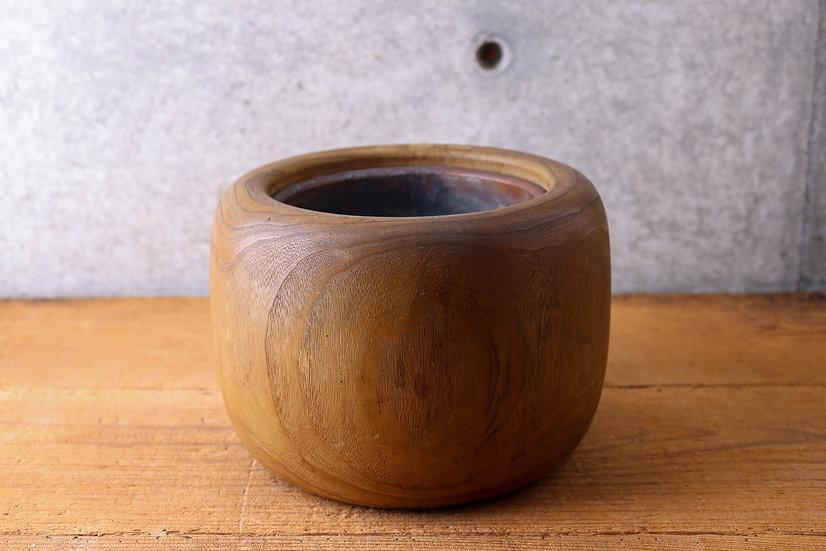 【古い道具】火鉢(桐)