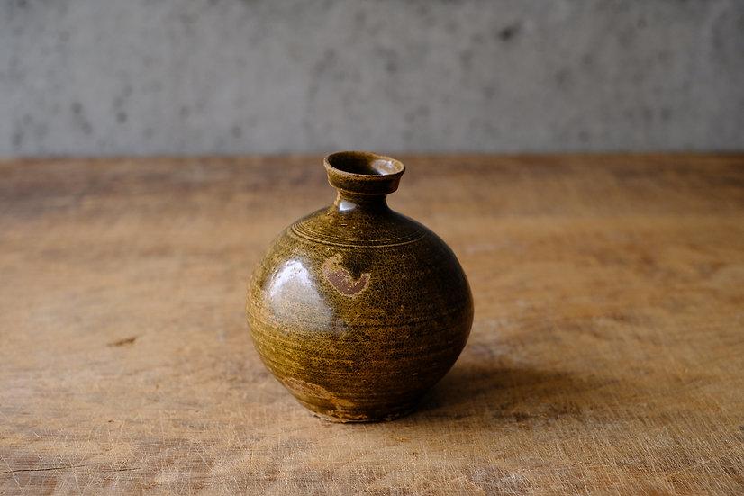 【古い道具】高麗壺・あめ釉