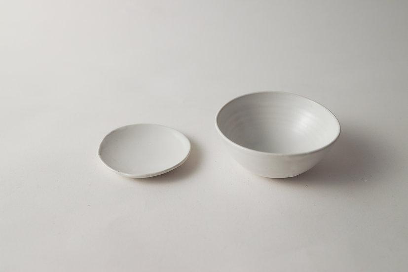 【中村豊実】小皿/茶杯・平