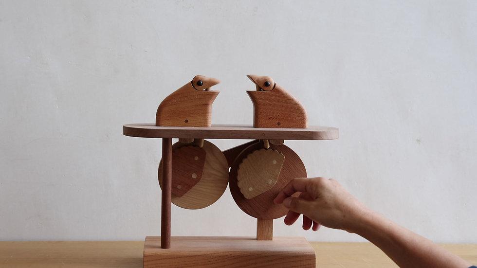 【蓮渓円誠】カラクリ玩具:コミュニケーション1(カエル)