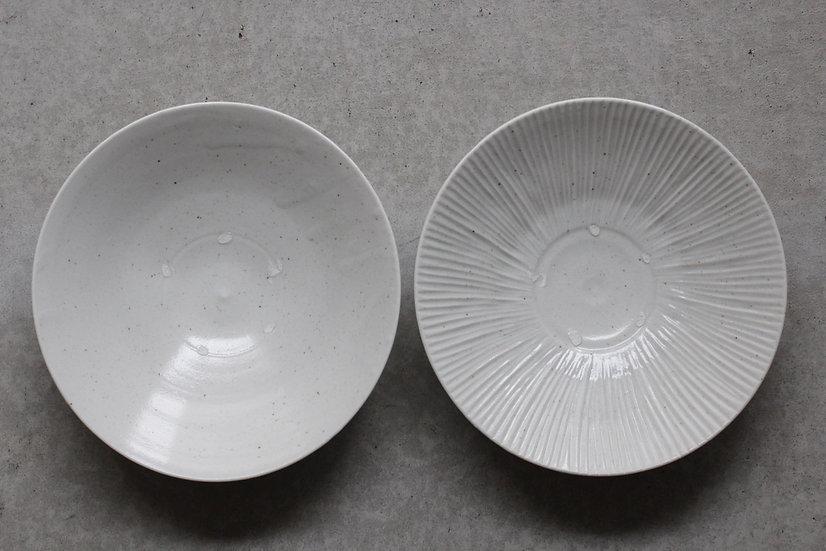 【竹下努】青白磁パスタ鉢