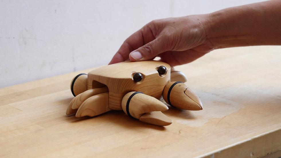 【蓮渓円誠】カラクリ玩具:カニ