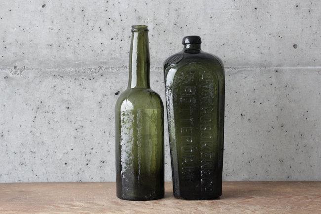 【古い道具】ワインボトル/ジンボトル