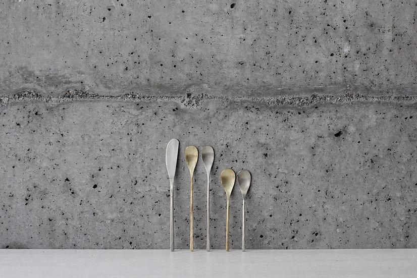 【銀猫】バターナイフ/ティースプーン