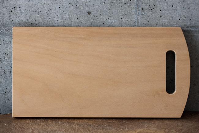 【woodpecker】いちょうの木のまな板・2大(FK-3)