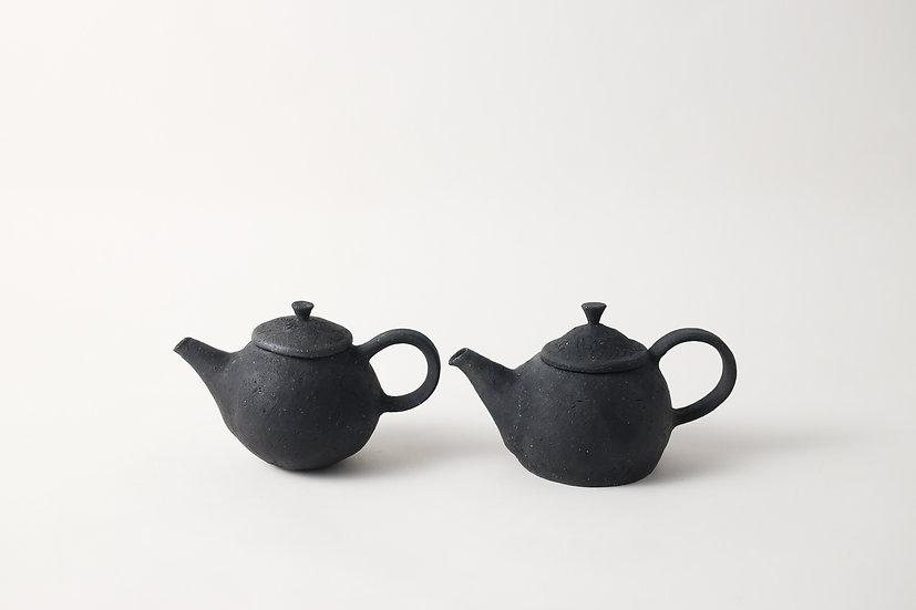 【フルカワゲンゴ】炭化・黒・茶壺