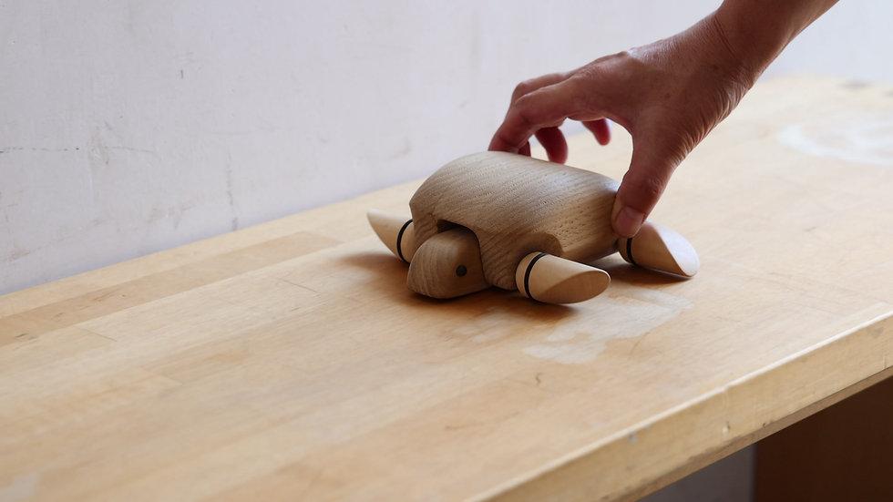 【蓮渓円誠】カラクリ玩具:カメ