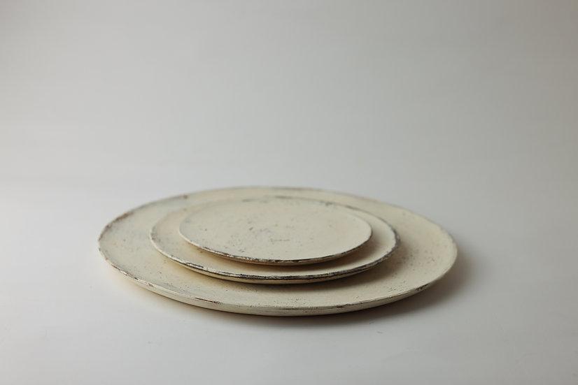 【大澤哲哉】Flat Plate・白