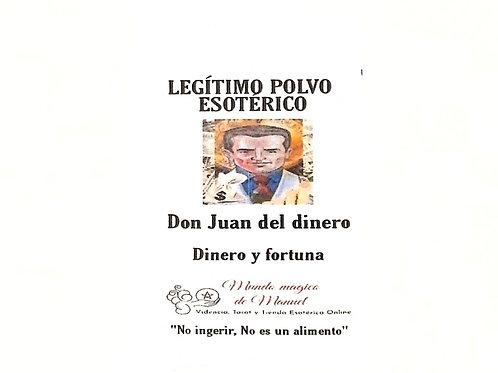 POLVO DON JUAN DE DINERO