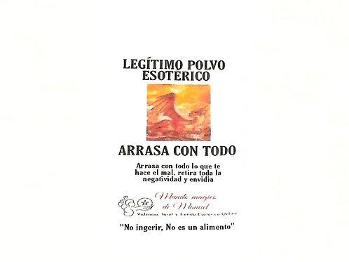 POLVO ARRASA CON TODO