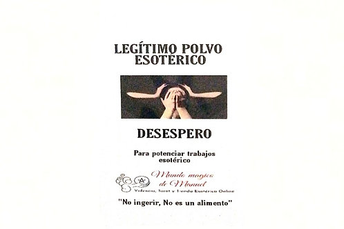 POLVO DESESPERO