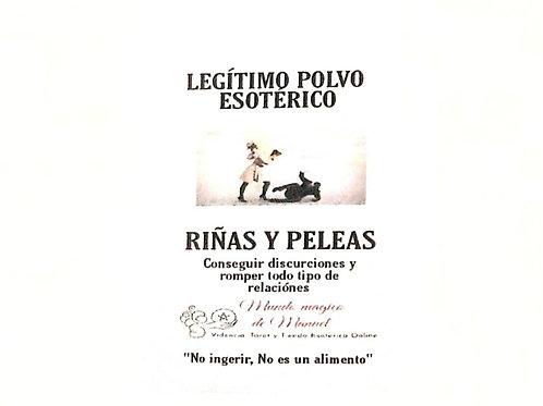 POLVO RIÑAS Y PELEAS