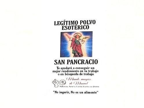 POLVO SAN PANCRACIO