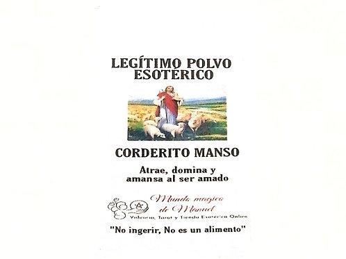 POLVO CORDERITO MANSO