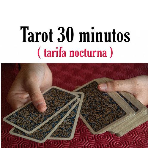 Lectura de 30 minutos (Tarifa nocturna)