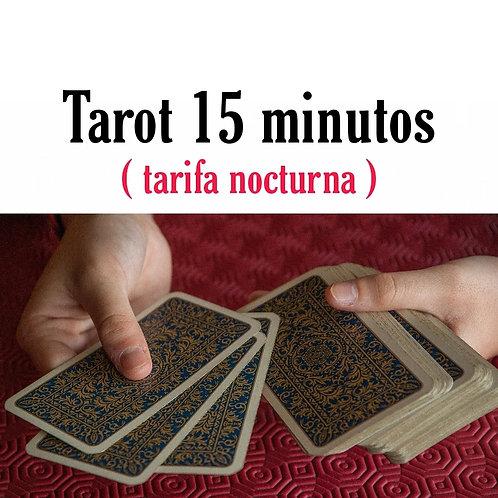 Lectura de 15 minutos (Tarifa nocturna)