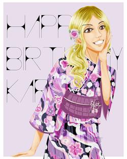 Kara's Bday Card